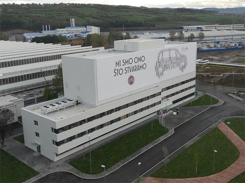 Fabrika Fiat, Kragujevac